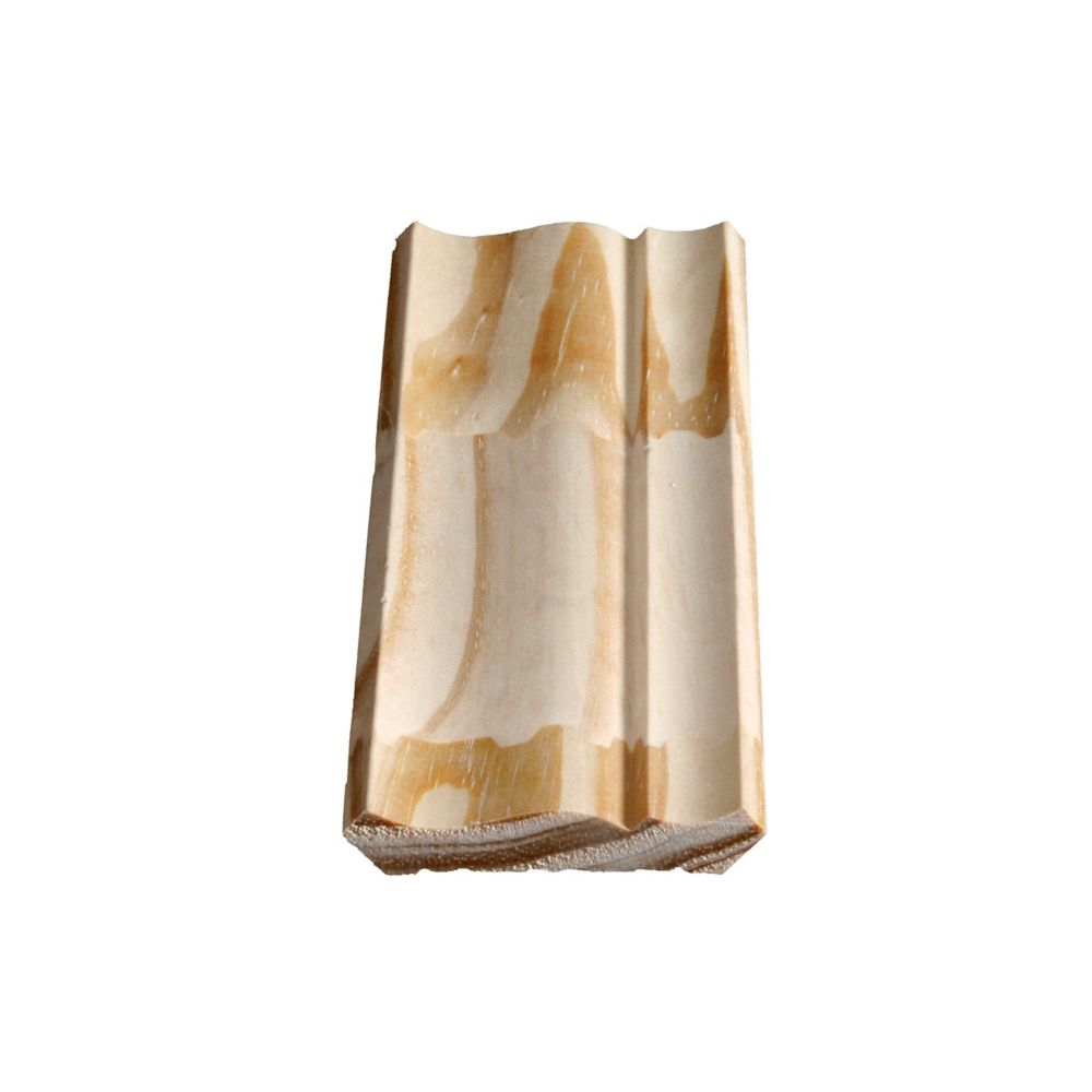 Finger Jointed Pine Ogee/Crown 9/16 In. x 3-1/8 In. (Price per linear foot)