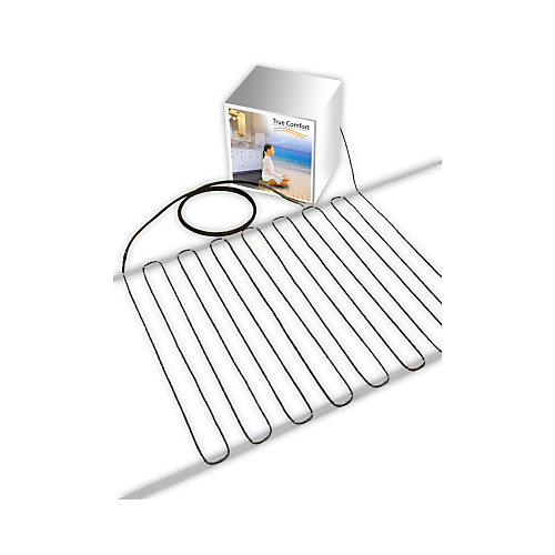 True Comfort True Comfort 120 V Floor Heating Cable Covers From