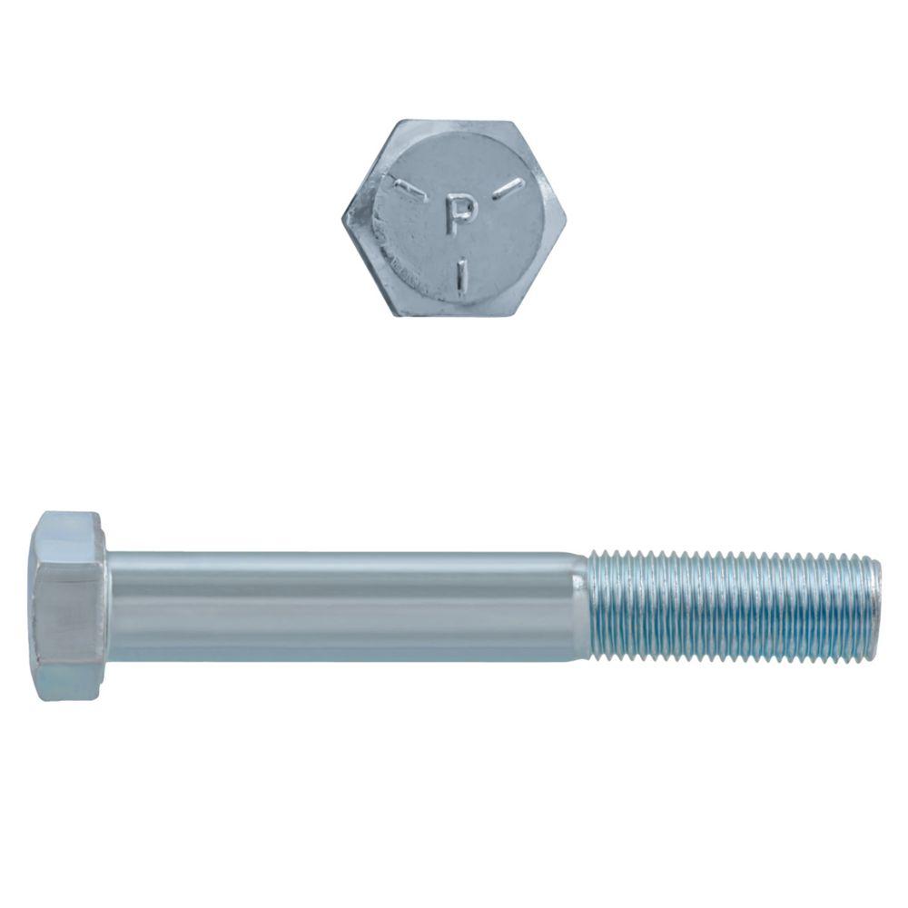1/2x3-1/2 Boulons Hex Classe 5 Zinc Plaqué Unf