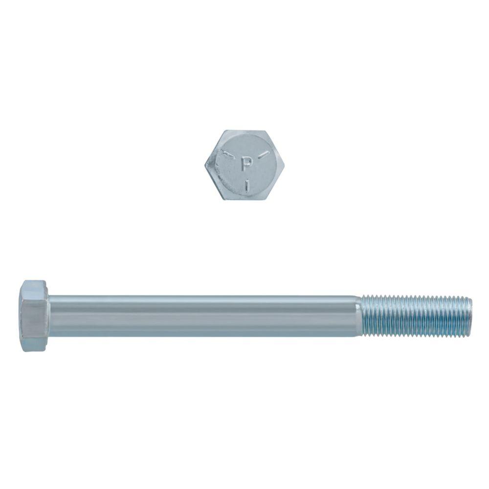 1/2x5 Boulons Hex Classe 5 Zinc Plaqué Unf