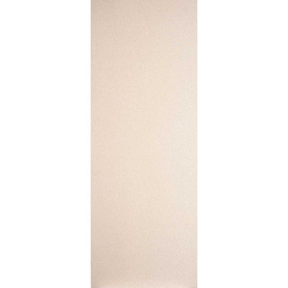 Primed Hardboard Door Slab 32in x 80in