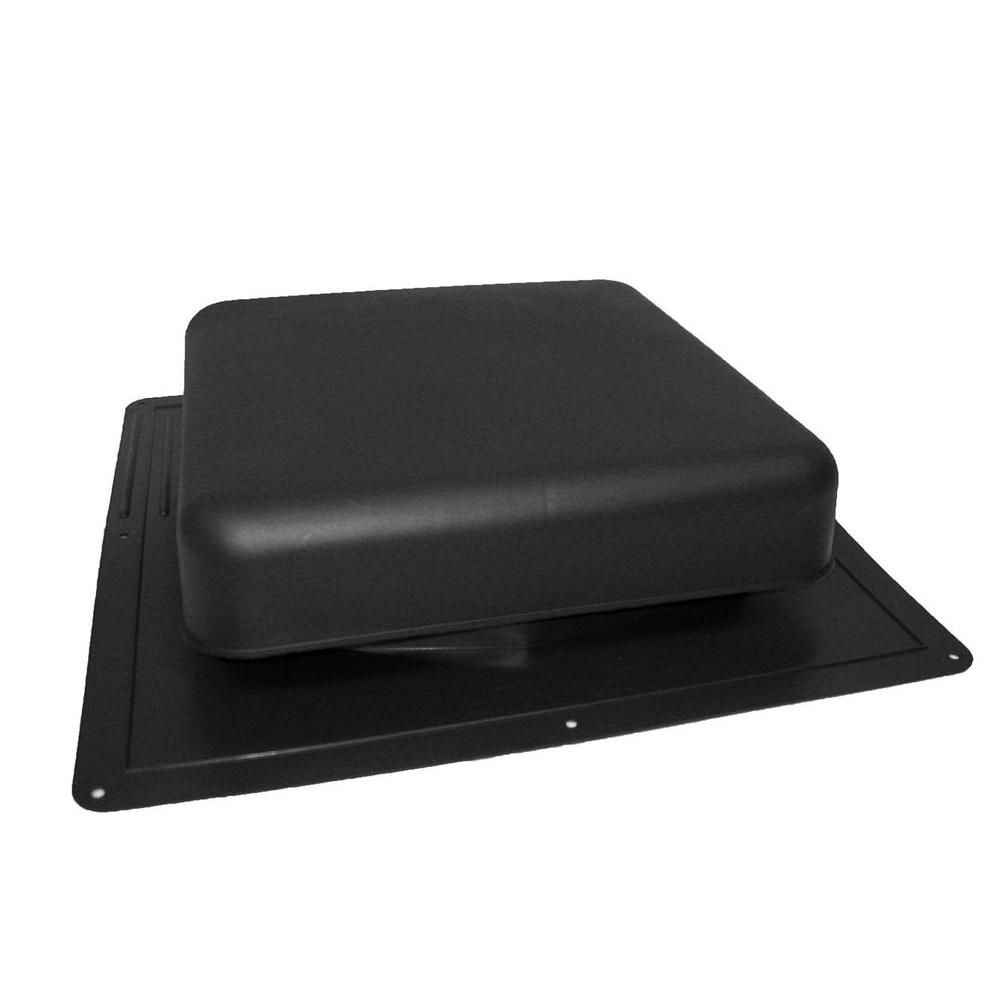 60 NFA Black Roof Louver High Impact Resin Square Top