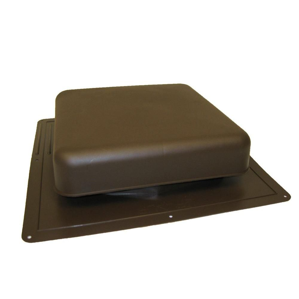 60 NFA Brown Roof Louver High Impact Resin Square Top