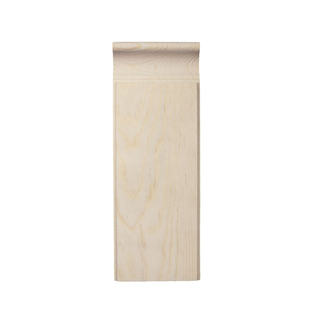 Pine Plinth Block 7/8 In. x 3 In. x 8 In.