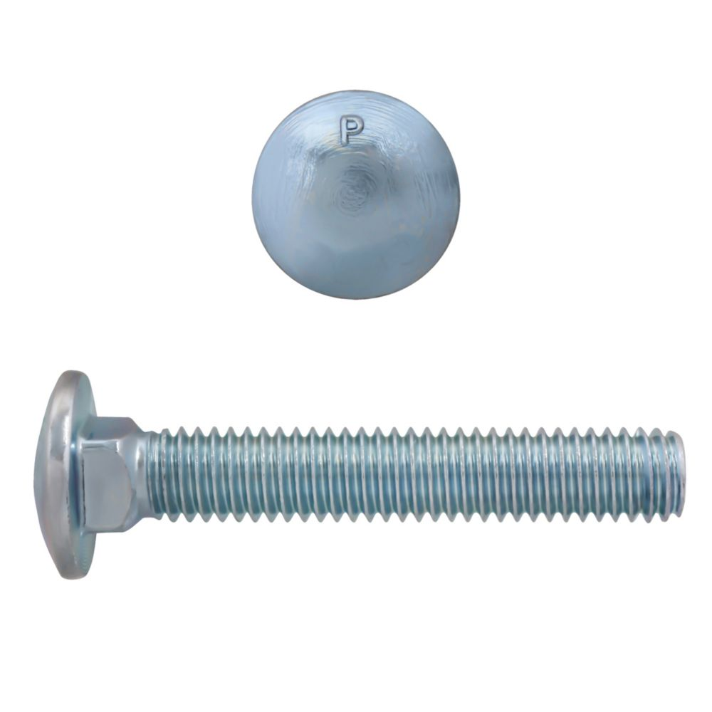 5/16x2 GR2 Carriage Bolt Unc