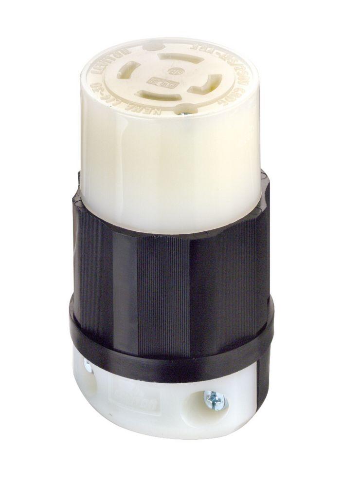 Connecteur Verrouillable, Tripolaire, Quadrifilaire, 30 A, 125/250 V