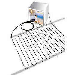 True Comfort 120V Floor Heating Cable - Covers from 51 up to 65 sf depending on chosen spacing