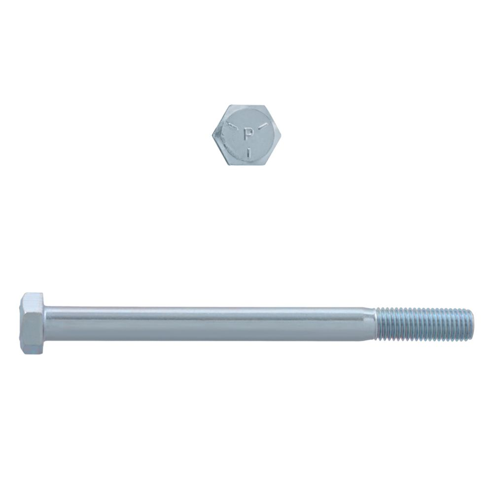 5/16x4 Boulons Hex Classe 5 Zinc Plaqué Unf