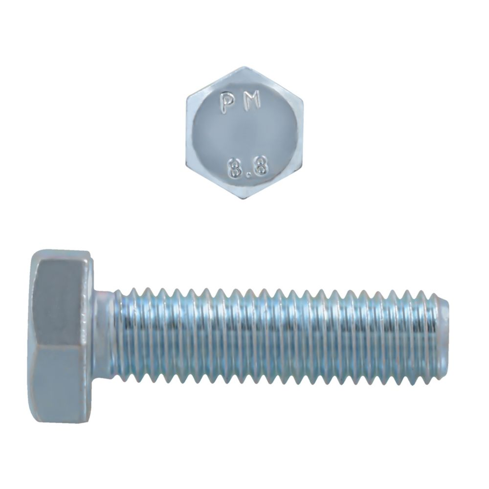 M10x35 Metric Bolt 8.8 Unc