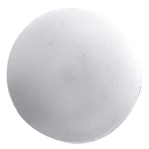 #1 capuchons de vis en plastique blanc