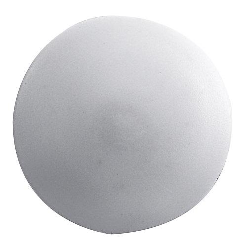 #2 capuchons de vis en plastique blanc