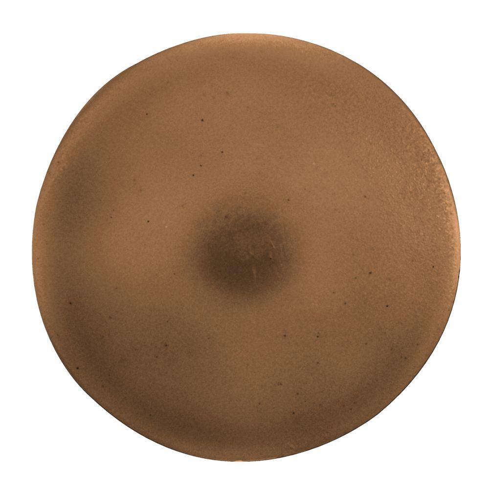 #2 Plastic Screw Cover Brown