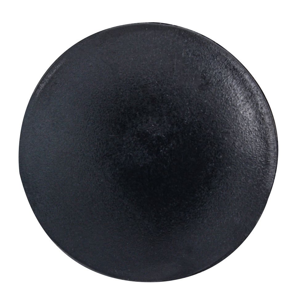 #2 Plastic Screw Cover Black