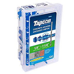 Paulin 1/4 X1 1/4 Hex Tapcon  Concrete Anchor