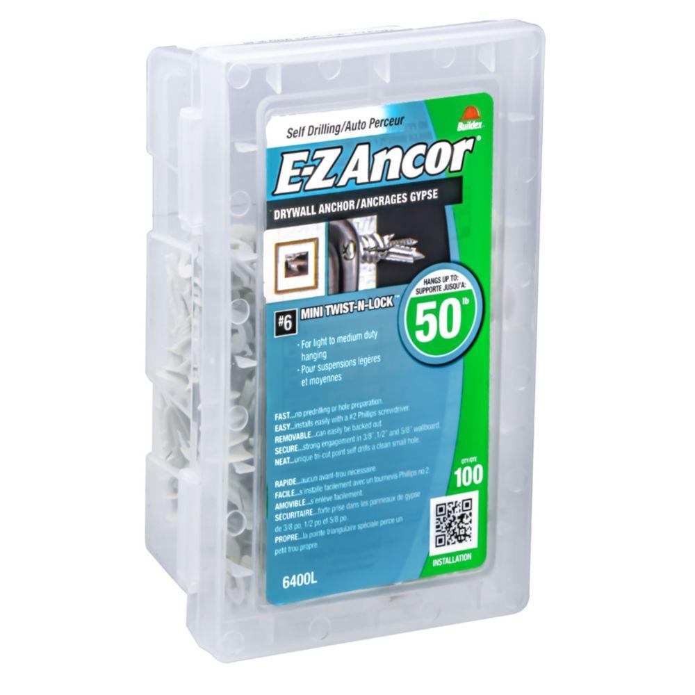 #6 E-Z Ancors  Light