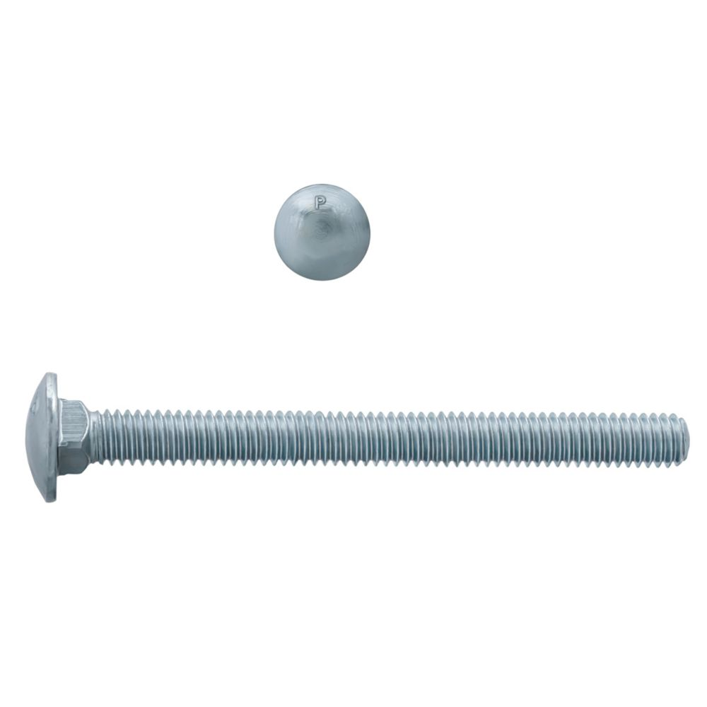 5/16x3 1/2 Carriage Bolt GR2 Unc