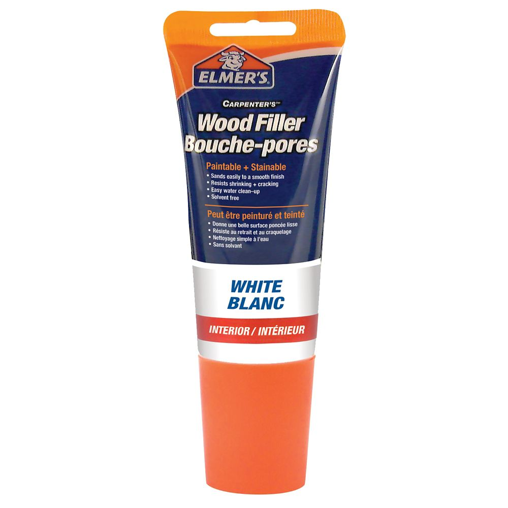Tinted Wood Filler White Tube