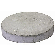 Round Slab, 16 Inch - Grey