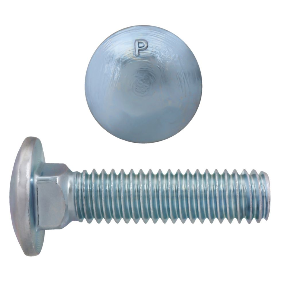 3/8x1 1/2 Carriage Bolt GR2 Unc