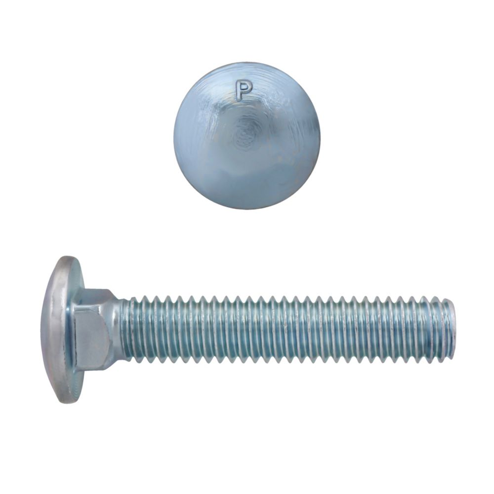 3/8x2 Carriage Bolt GR2 Unc