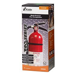 Kidde 2A/10BC Pro Series Rechargeable Red Fire Extinguisher