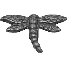 Pewter Dragon Fly Knob, 1-1/4 In.