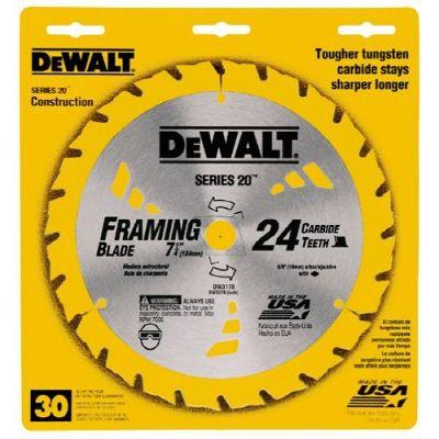 DEWALT 7-1/4 In. 24T Saw Blade