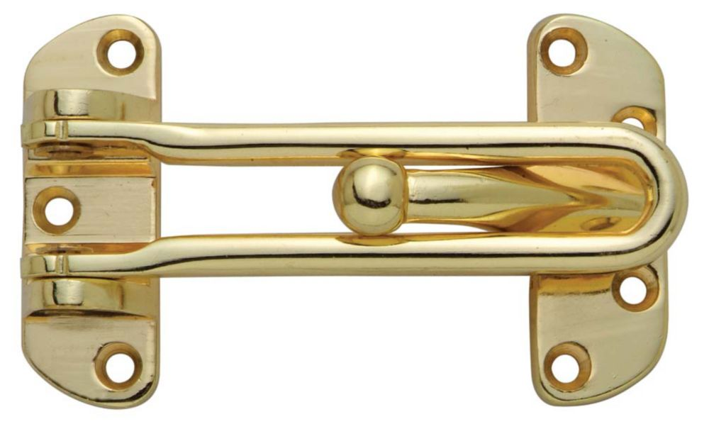 Polished Brass Door Guard