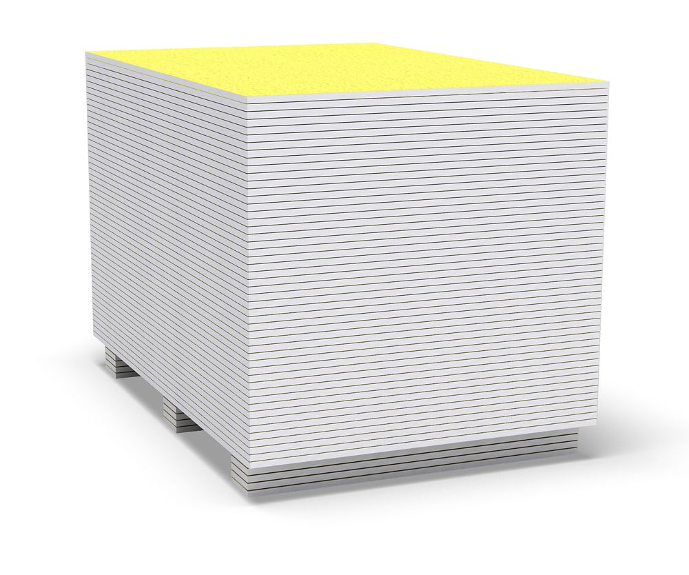 1/2 Inch x 32 Inch x 60 Inch Fiberglass Mat Tile Backer