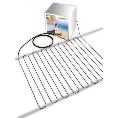 True Comfort 240-V Floor Heating Cable - Covers from 92 up to 119 sf depending on chosen spacing
