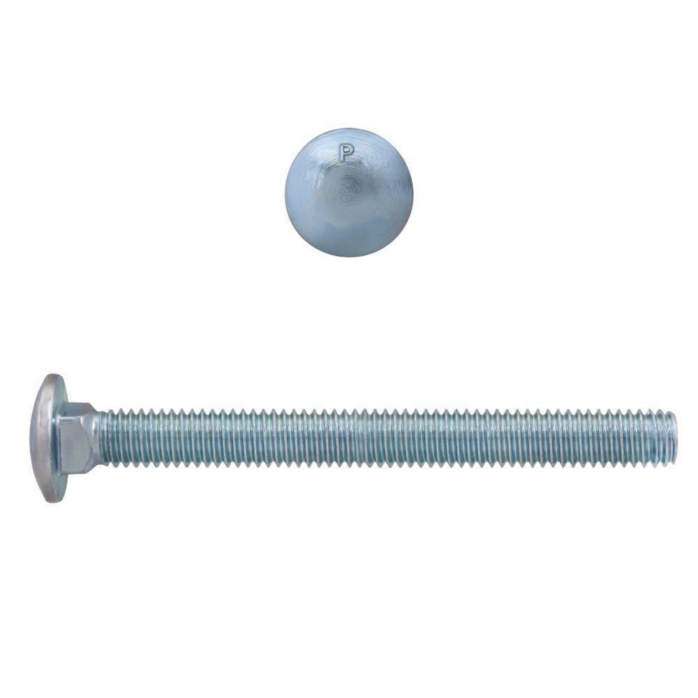 3/8x4 Carriage Bolt GR2 Unc