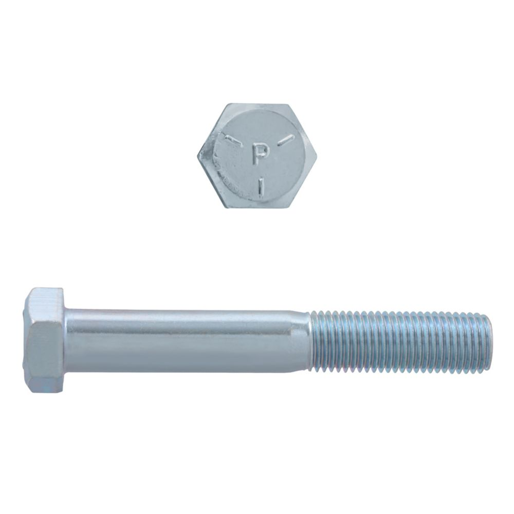 3/8x2-1/2 Boulons Hex Classe 5 Zinc Plaqué Unf