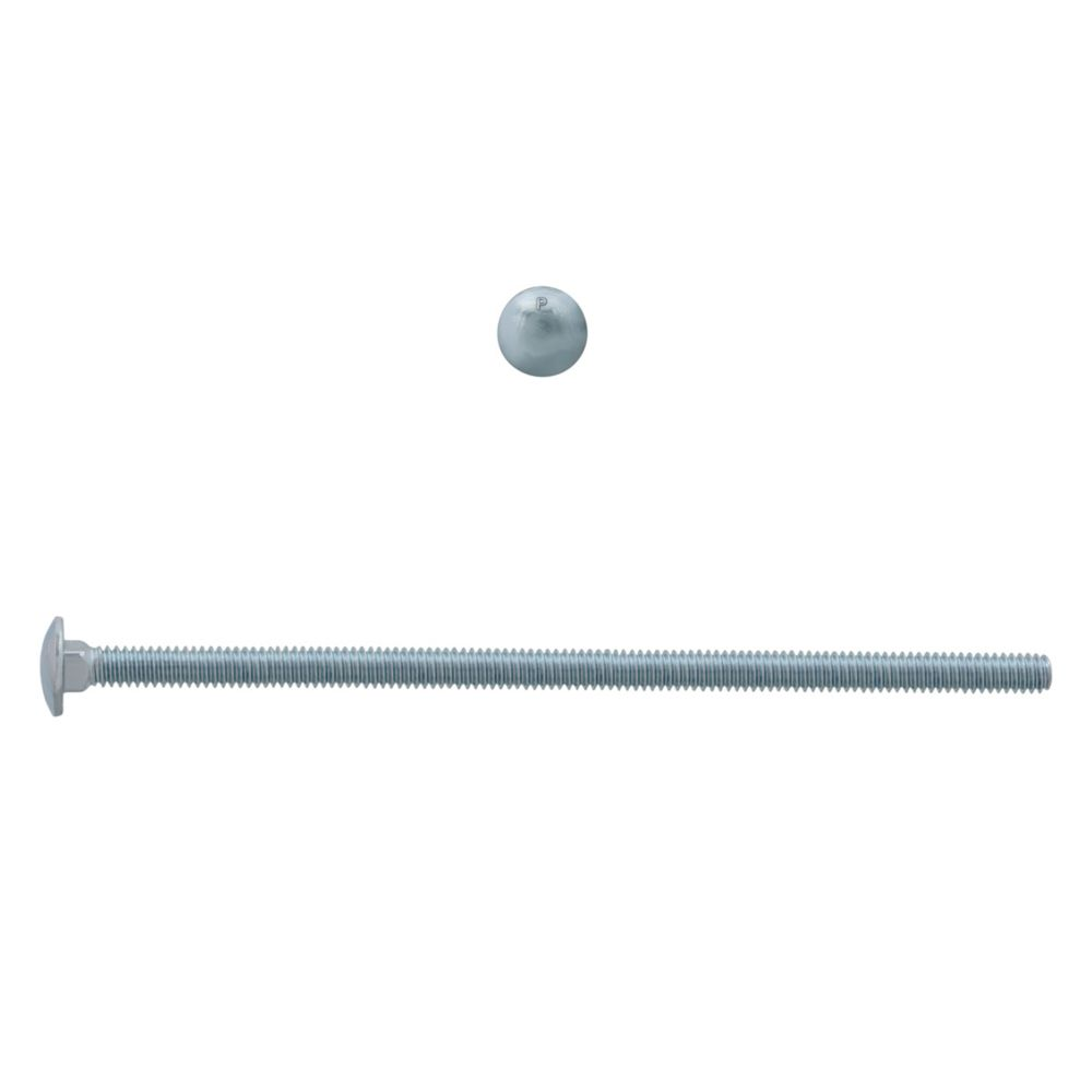 1/4x6 Carriage Bolt GR2 Unc