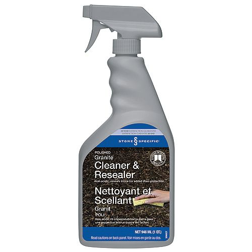 Custom Building Products StoneSpecific Polished Granite Cleaner & Resealer