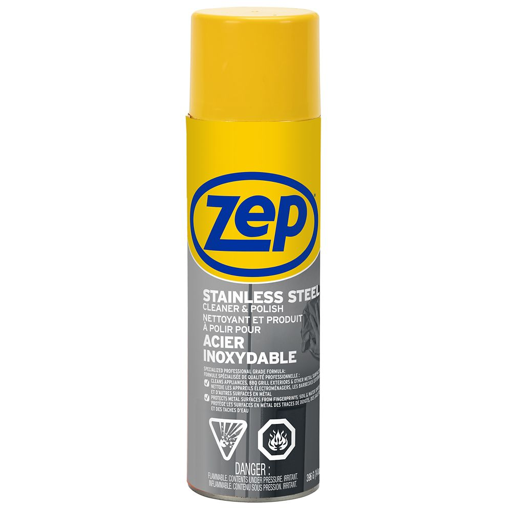 Zep Commercial Stainless Steel Polish The Home Depot Canada