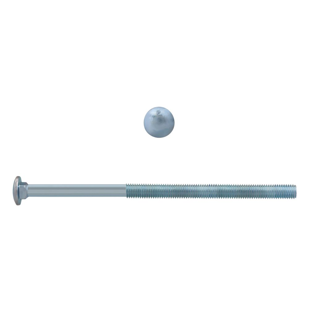 1/2x10 Carriage Bolt GR2 Unc