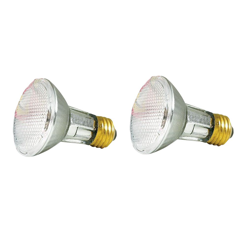 50W PAR 20 Halogen Flood 2Pk