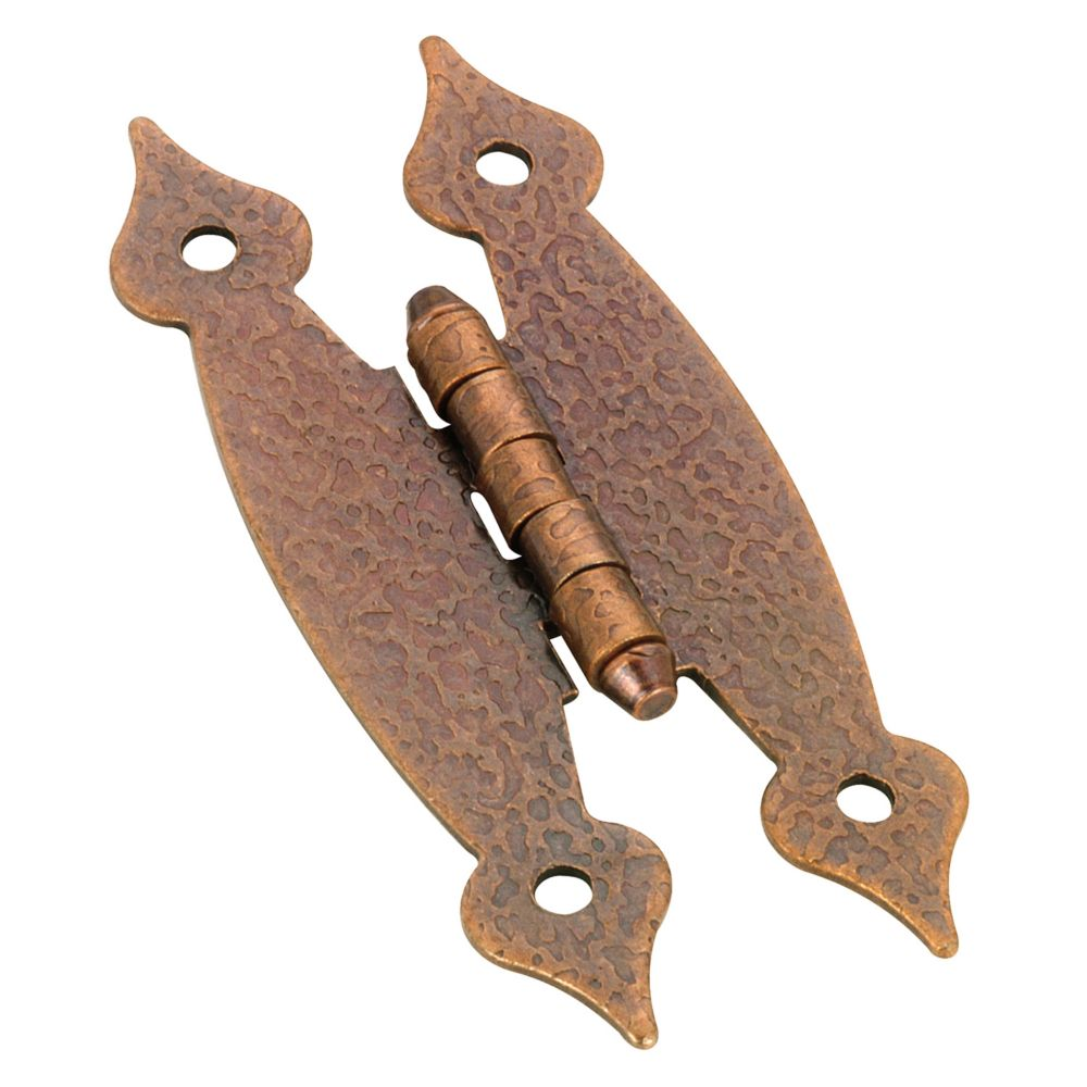 """H"" Hinge flush application - antique copper BP2053M41 Canada Discount"