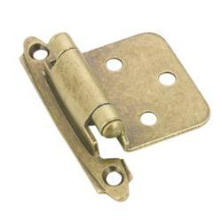 Richelieu Semi-Concealed Self-Closing Hinge - Antique Brass (20-Pack)