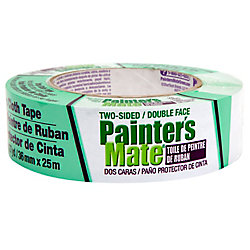 Painter's Mate Green 36 mm Two Sided Drop Cloth Tape