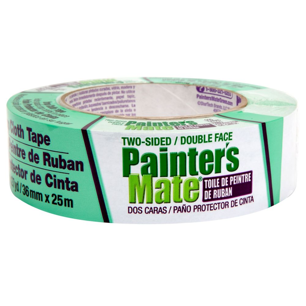 Painter's Mate Green 36mm Painter's Mate Green Two Sided Drop Cloth Tape