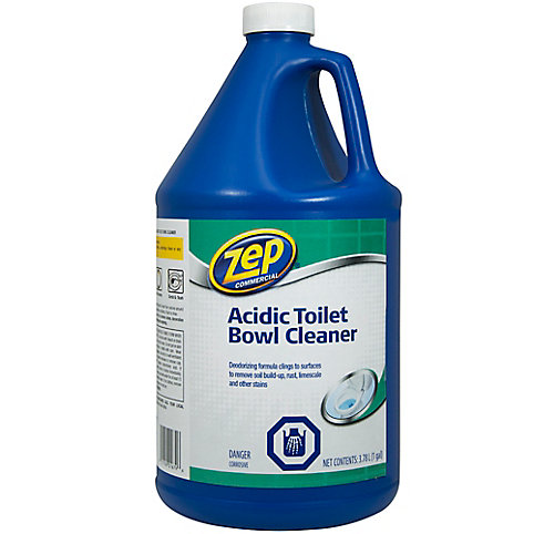 Zep Commercial Acidic Toilet Bowl Cleaner- 3.78 L   The Home Depot ...
