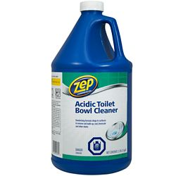 Zep Commercial Produit nettoyant acide pour cuvettes de toilettes – 3,78 L