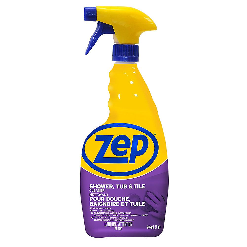 Nettoyant Zep pour douche, baignoire et tuile 946 ml