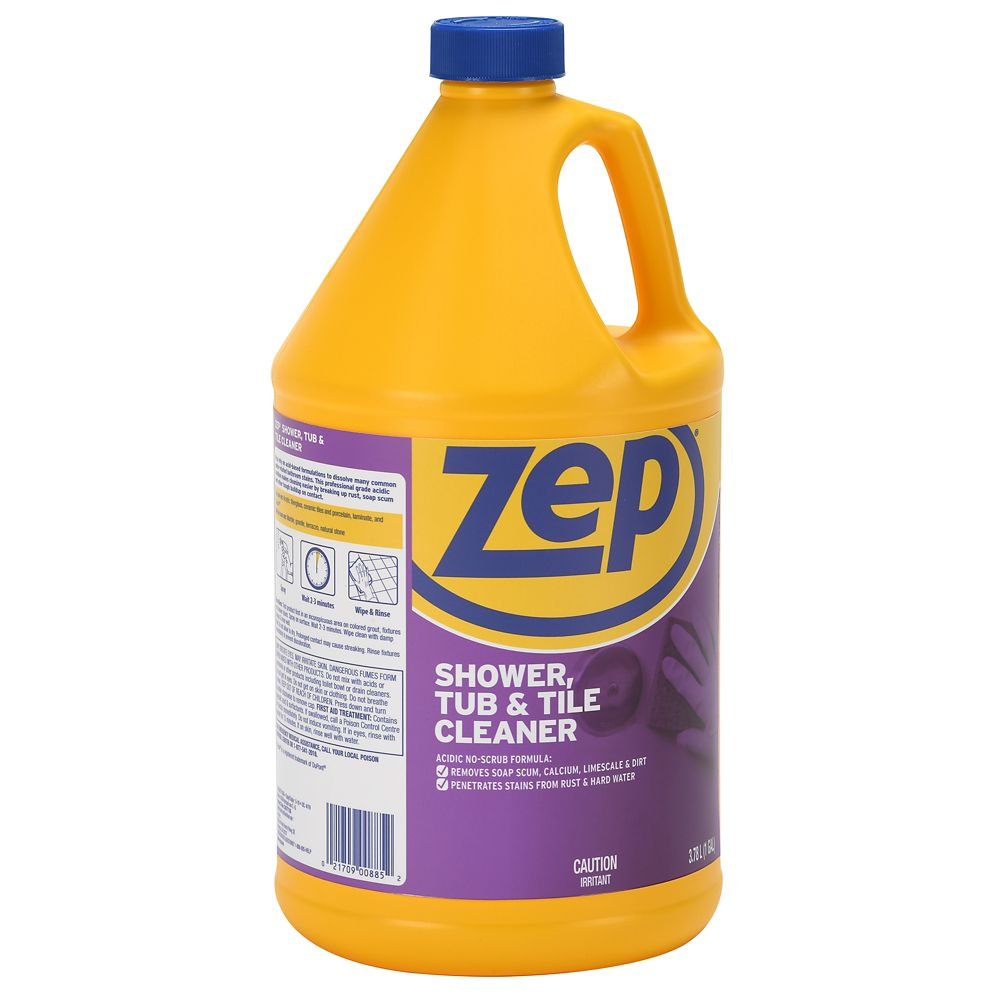 Zep commercial zep shower tub tile cleaner the for Bathroom tile cleaner products