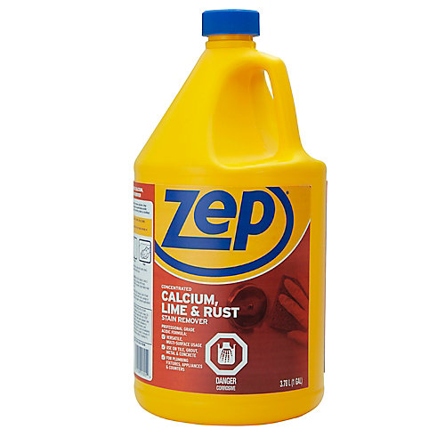 Détachant Zep pour taches de calcium, de calcaire et de rouille  3,78 L