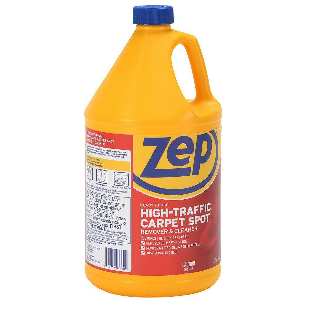 Produit nettoyant pour moquettes à fort trafic � 3.78 L