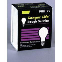 Philips À incandescence A19 de service dur 50 W De service dur 100 W 130 V 2/paq.