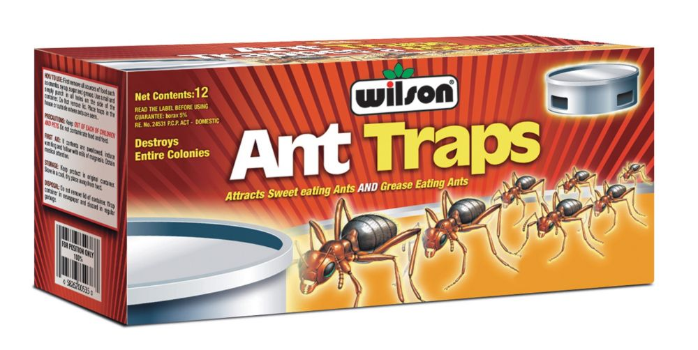 wilson pi ges fourmis commerciaux paquet de 12 home. Black Bedroom Furniture Sets. Home Design Ideas