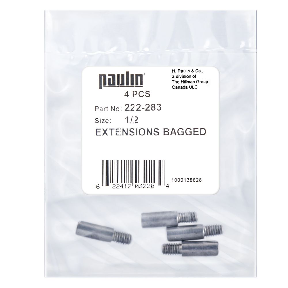 Papc 1/2 Extension Screws